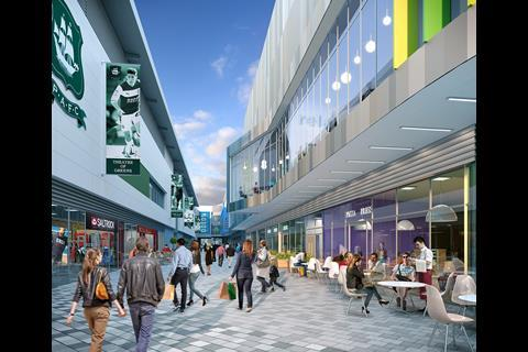 Plymouth Argyle Home Park development